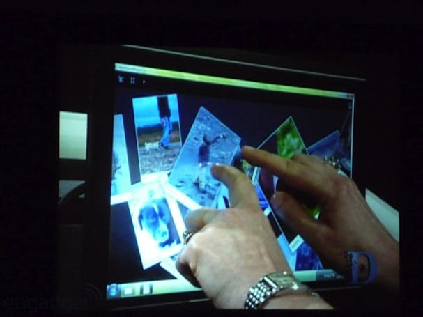 Microsoft on track to release Windows 7 multi-touch SDK in October
