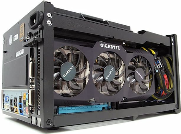 Gigabyte H55 Mini-ITX motherboard and Silverstone SG07 used to build (almost) perfect gaming toaster