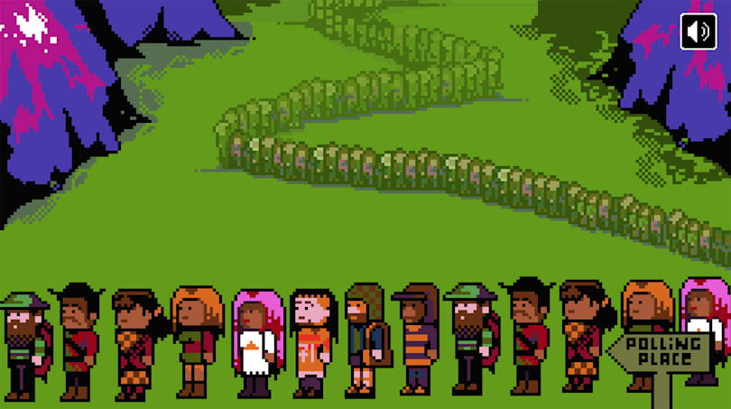 Election take on 'The Oregon Trail' is almost too realistic