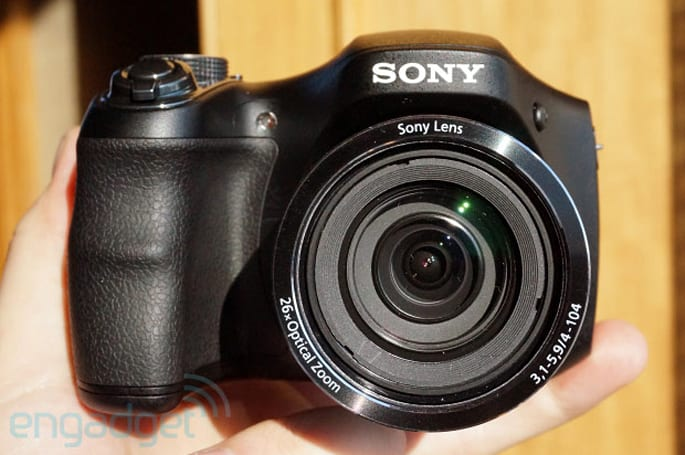 Sony Cyber-shot H200 features 26x OIS lens, 20.1MP stills for $249 (hands-on)