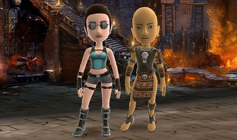 Lara Croft Avatar items and premium theme coming to Marketplace