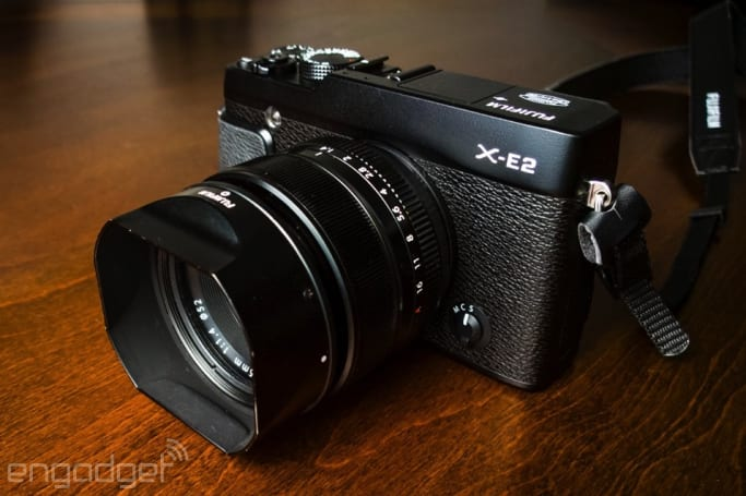IRL: Trading in Fujifilm's X-E1 camera for the X-E2