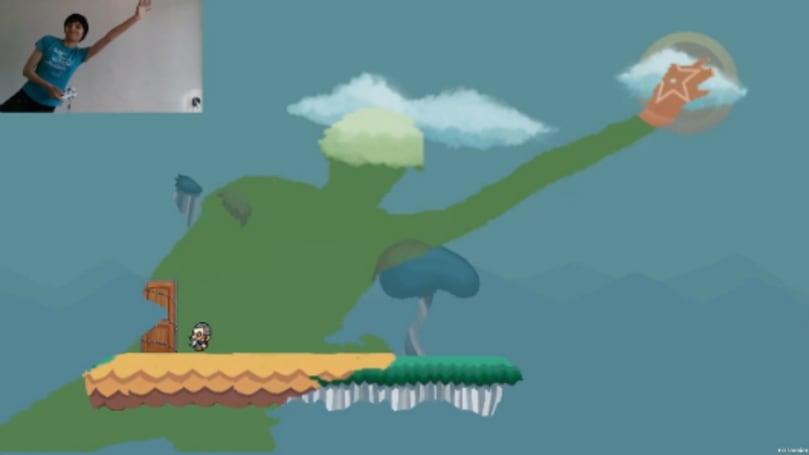 Your body is a wonderland in Kinect platformer 'Fru'