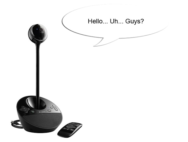 Logitech gambled big on video conferencing, lost