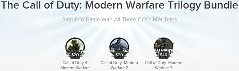 Joystiq Deals: Modern Warfare trilogy