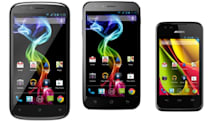 Archos dips into smartphones with the 35 Carbon, 50 Platinum and 53 Platinum