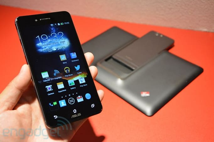 The new ASUS PadFone Infinity hands-on (video)