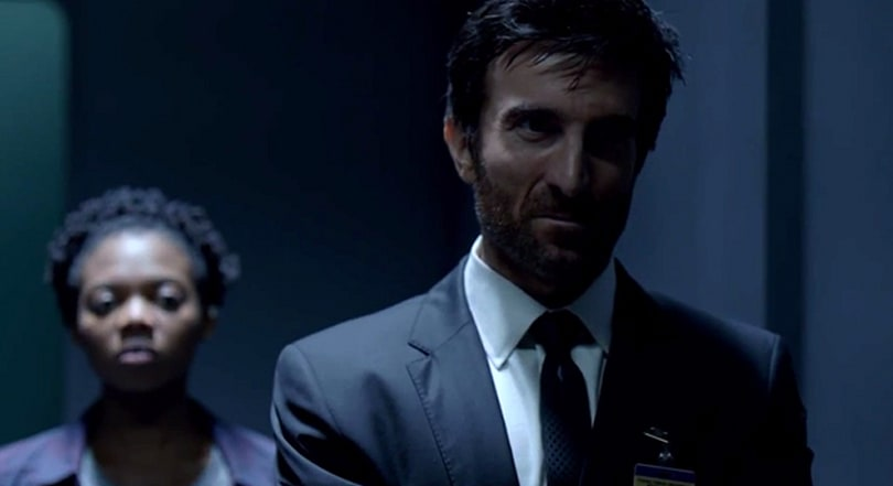 The trailer for PlayStation's 'Powers' series doesn't hold anything back