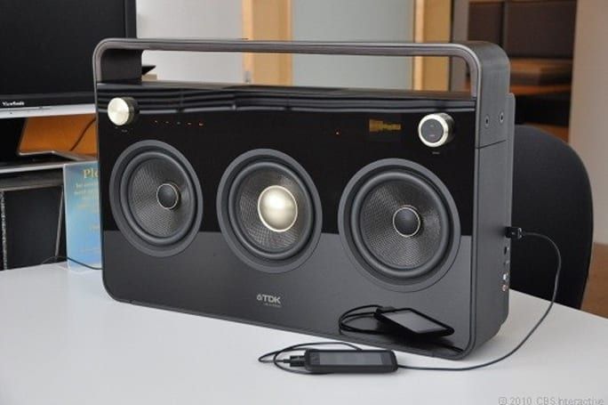 TDK debuts $499 'Three-Speaker Boombox'