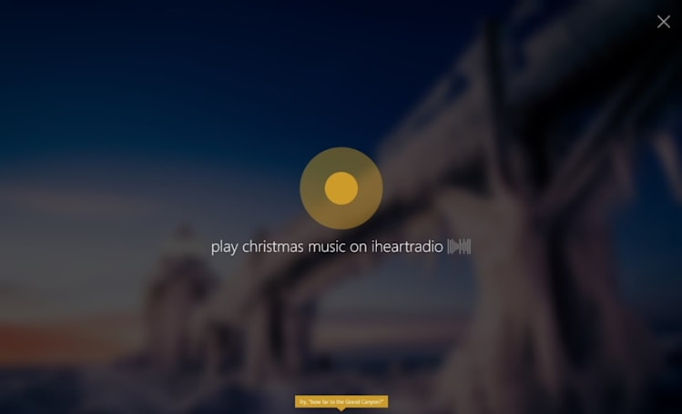 Windows 10 preview lets Cortana play music, turn off your PC