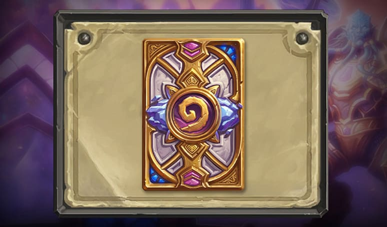 Hearthstone's January card back: Marauding Maraad