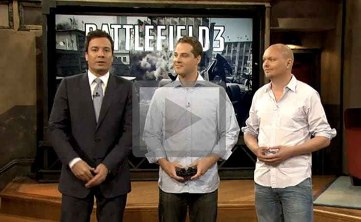 Battlefield 3 console footage unveiled on latest Fallon