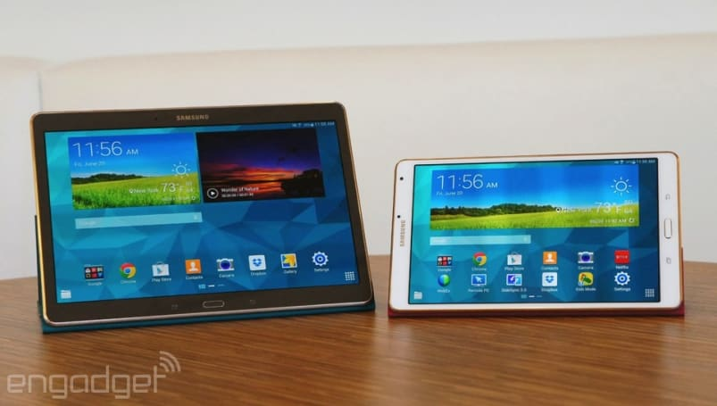 Samsung Galaxy Tab S review: slim design, long battery life, stunning screen