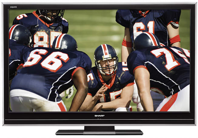 Sharp's AQUOS LC-46D85U LCD HDTV reviewed: average at best