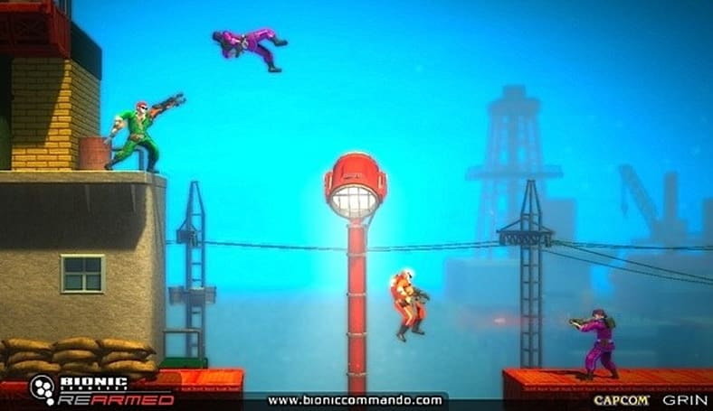 Bionic Commando Rearmed Trophies are almost here