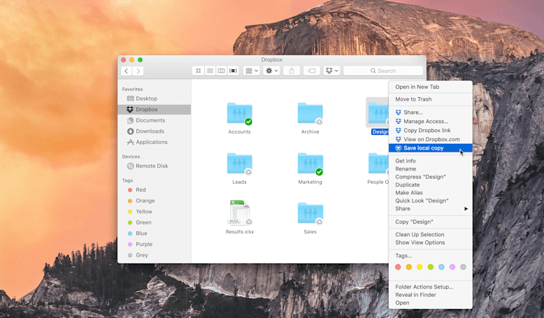 Dropbox will soon show all your cloud-based files right in the desktop