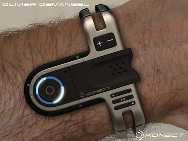 Konect USB watch concept is awe-inspiring, hard to tell time on   (video)