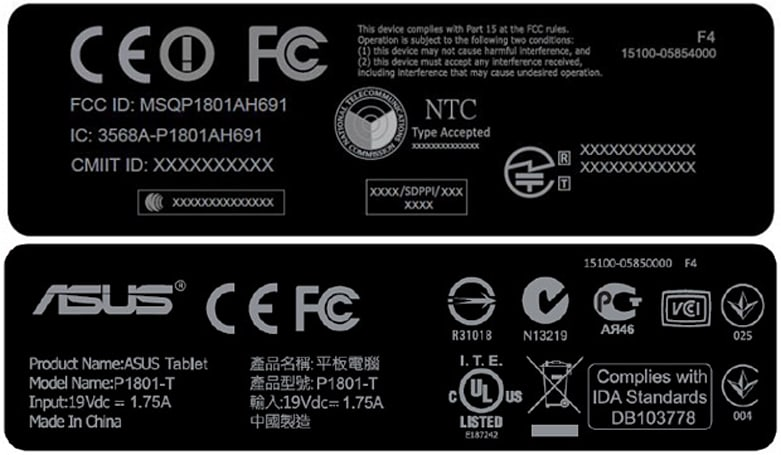 Mysterious ASUS P1801-T visits the FCC, might be the finished Transformer AiO (updated)
