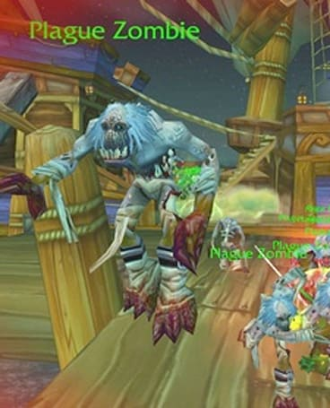 Times Online examines WoW's zombies and the connection to real life
