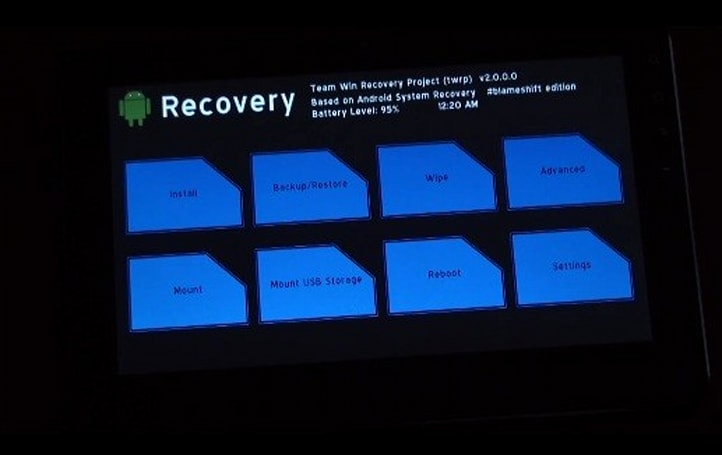 TeamWin demos TWRP 2.0 recovery manager for Android, scoffs at your volume rocker (video)