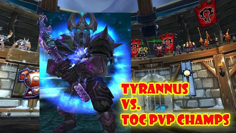 Two Bosses Enter: Tyrannus joins ToC faction champs in season finale