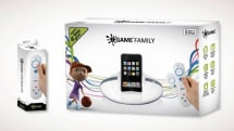 'iGame Family' iPod dock for TV: includes Wiimote-esque controller, games