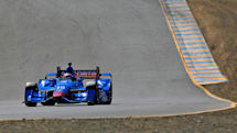 Indycar driver tests smart shirt to track the perils of racing