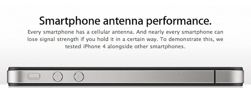 Apple posts iPhone 4 press conference video, 'smartphone antenna performance' page