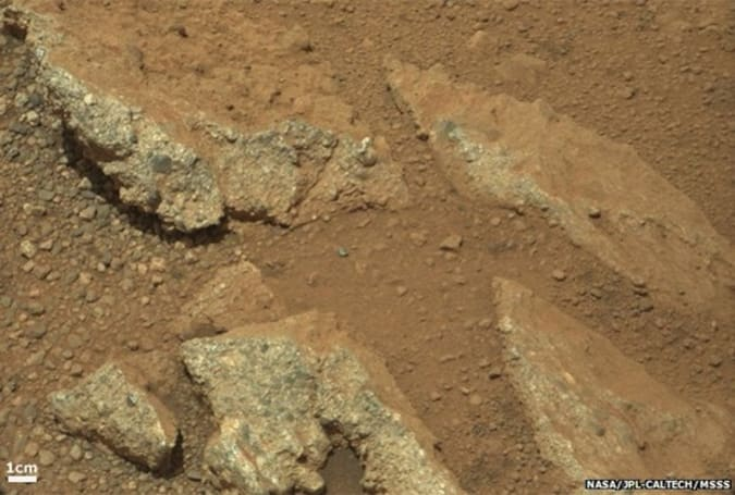 Mars pebbles prove that rivers altered the planet's surface