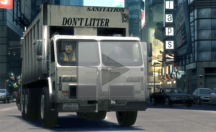 The Trashmaster, a full-length film made entirely in GTA IV