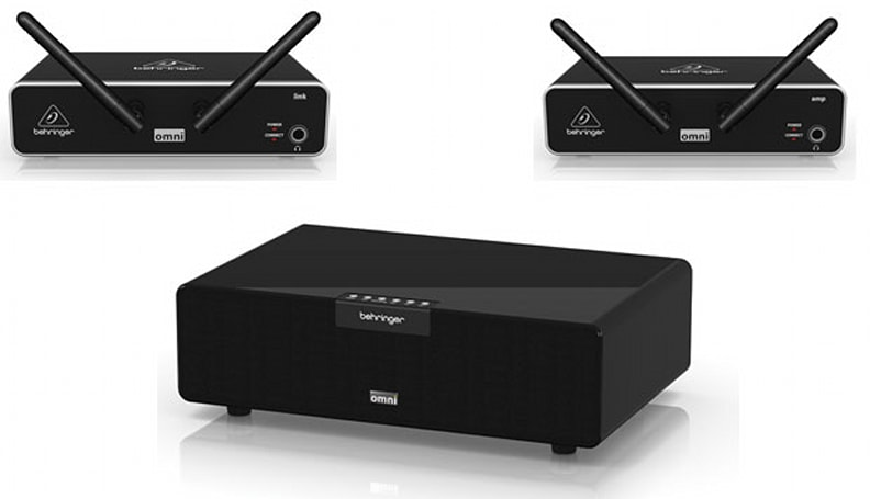 Behringer announces OMNI series AirPlay speakers and connecting receiver amps