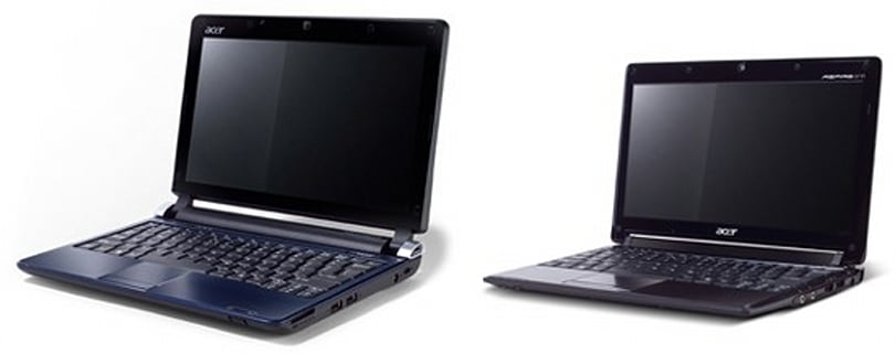 Acer Aspire One D250 and 531 pop official in Germany