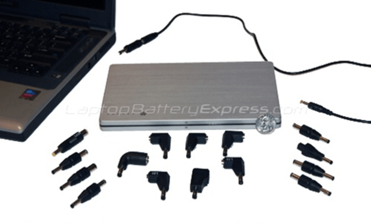 Laptop Battery Express' external battery works with 10,000 laptop models, just not yours