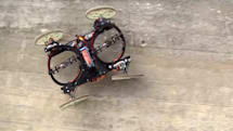 Disney's robot car drives up walls