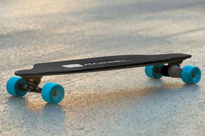 Marbel's electric skateboard doesn't look like an electric skateboard