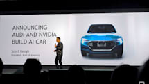 Audi and NVIDIA work together on AI-powered cars