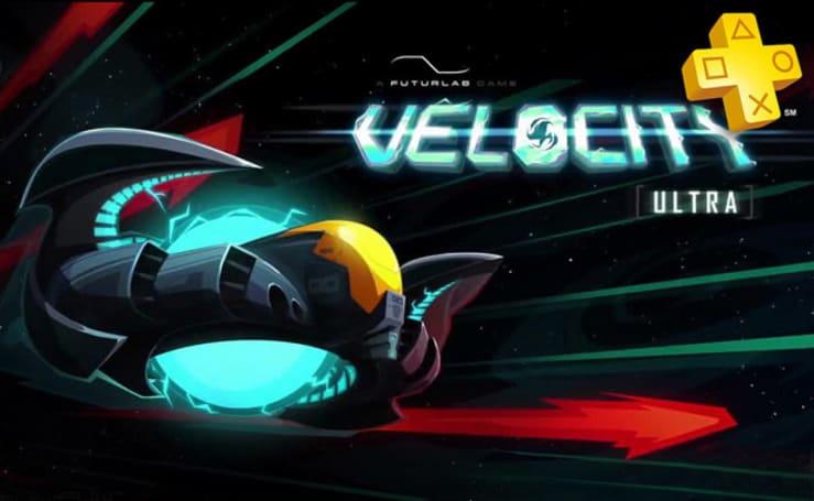 Vita shooter Velocity Ultra free this week on PlayStation Plus