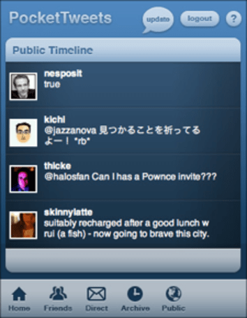 PocketTweets: Twitter for iPhone