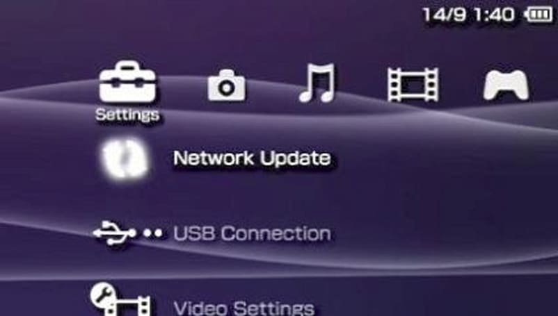 PSP firmware 4.05 goes live with new visualizers