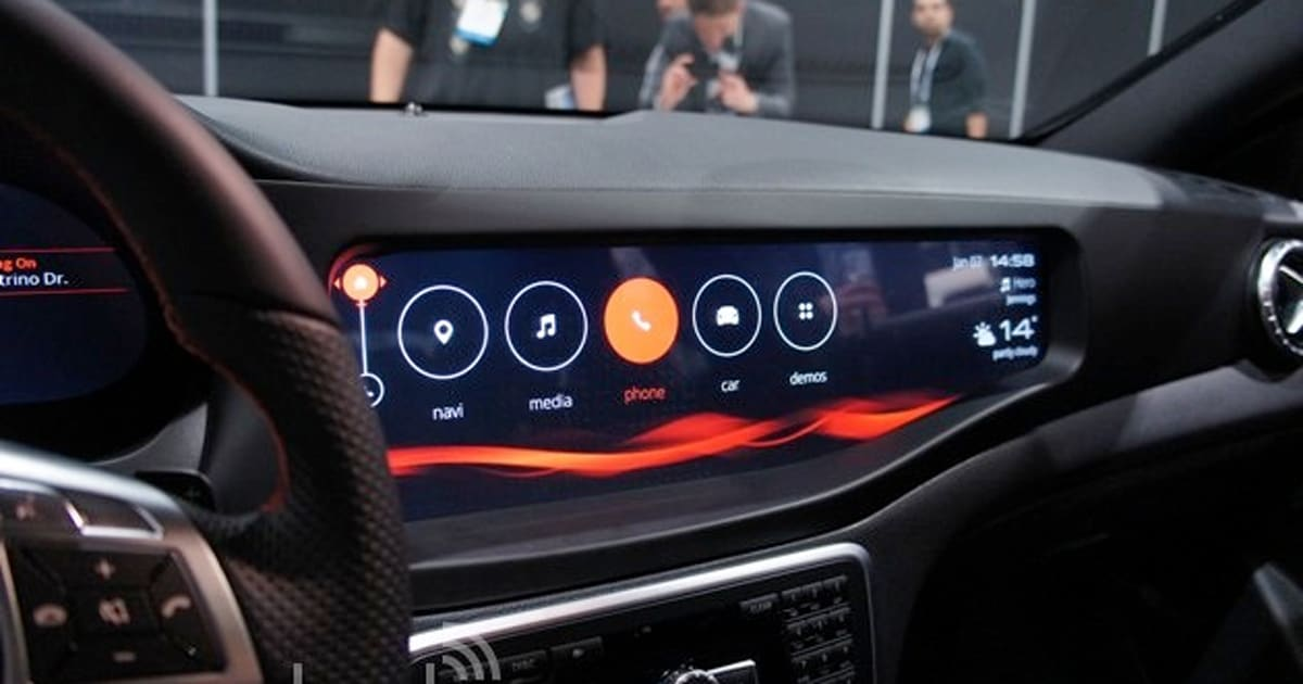 Mercedes Benz Cla45 Amg With Qnx Car For Infotainment Hands On