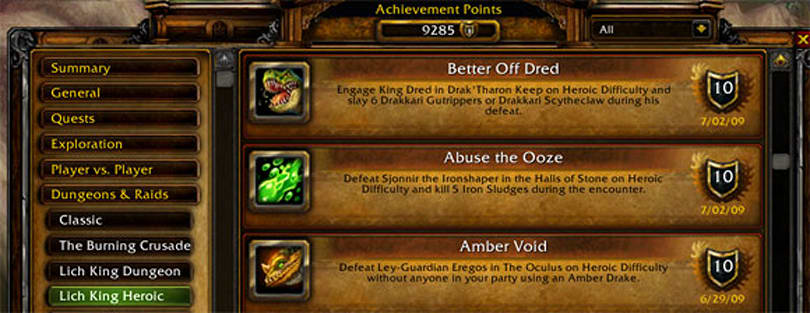 Are account-wide achievements a blessing or a curse?