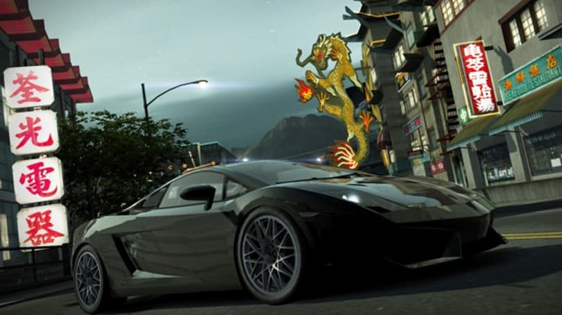 Behind the wheel with Need For Speed World