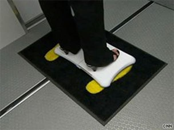 Wii balance board could be used in fruitless airport security effort