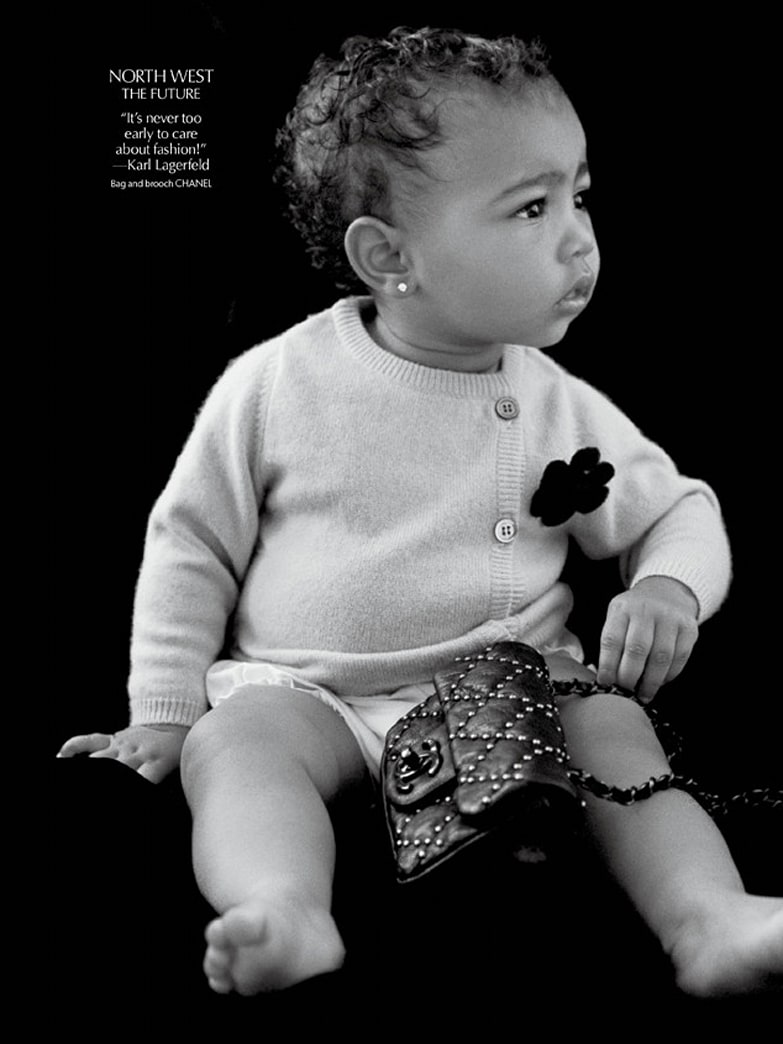 North West makes her modeling debut!