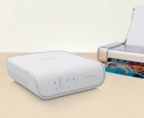 Belkin Home Base brings wireless printing and file sharing to any PC