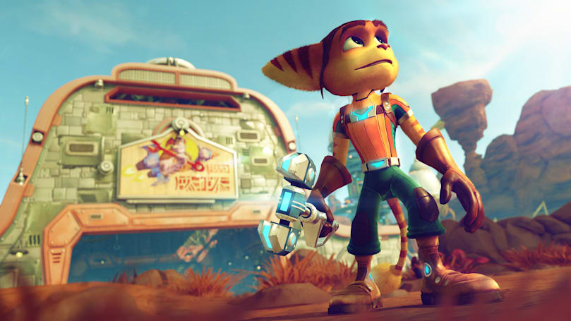 'Ratchet & Clank' hits PS4 on April 12th