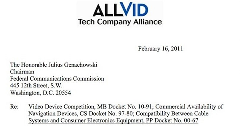 Google, Best Buy, Sony and others form alliance to defend FCC's proposed 'AllVid' standard