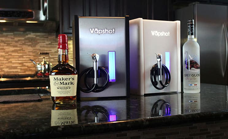 You can now inhale shots like air for just $700