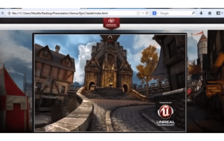 Mozilla partners with Epic Games to bring Unreal Engine 3 to the web