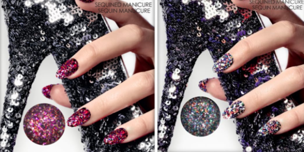 The Next Hot Nail Trend? The Sequin Manicure